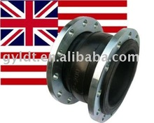 BS standard single arches rubber pipe fitting