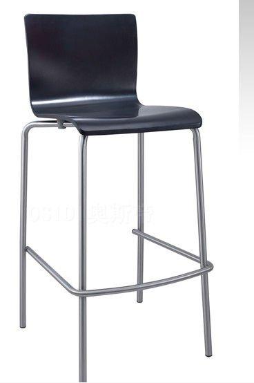 bar chairs Stain steel bar high chairs View bar stool