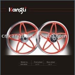 17 inch aluminum alloy wheel for CUB bike