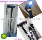 Led light foldable walking stick cane