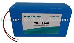 lifepo4 48V 20Ah for motor battery
