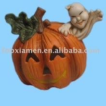 halloween pumpkin candle holder