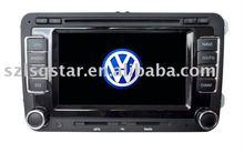 VW Passat B6 dvd player