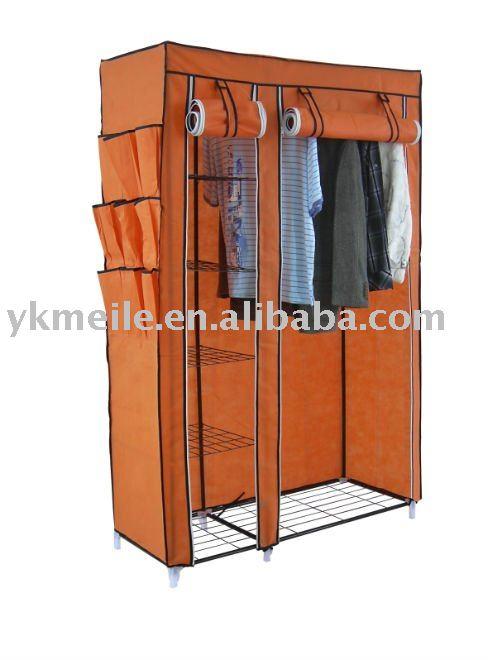 Armario Ropero Metal : Tela wardrobr armario ropero dem?s muebles de metal