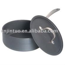 Aluminium non-stick milk pot with lid