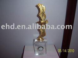 Modern Metal Art Eagle Sculptures EHD-1024