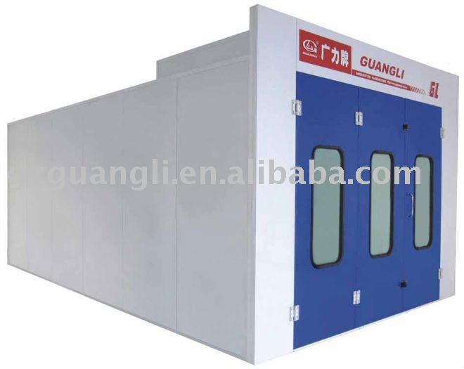 car spray paint booth oven