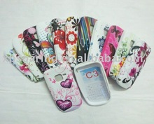 Fashion TPU rubber case skin back cover for Nokia C3