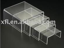 Fashion tea table,Clear acrylic layers coffee table