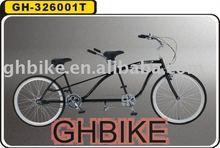 26inch beach cruiser frame 2 seat tandem bike
