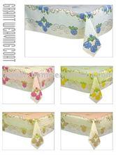 table cloth printed pvc