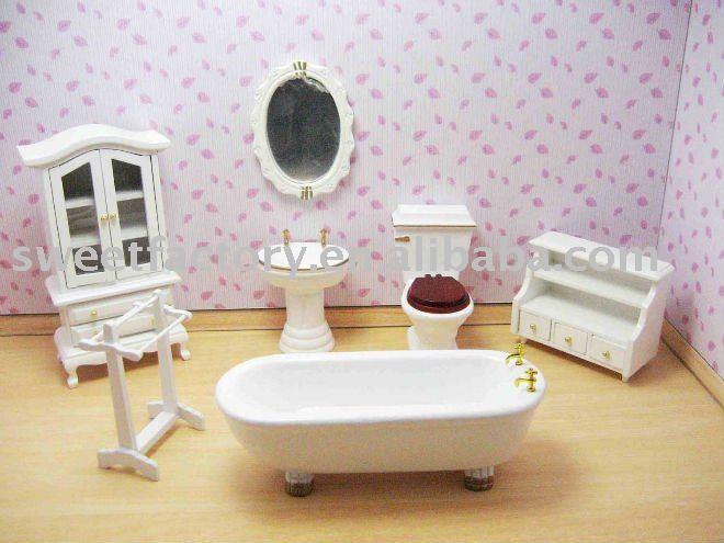 Marvelous 20th Century Bathroom The Dolls House Emporium .