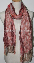casual lattice scarves with circle pattern:JDZ-145_14#