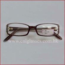 azione nere di plastica casuali degli occhiali di modo della fabbrica di shenzhen