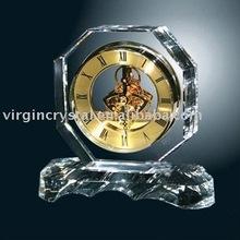 High-level Crystal Skeleton Clock Gifts/ Mechanical Clock