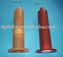 amber brown US type dispensing syringe
