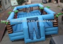 inflatable volleyball and basketball , inflatable football playground