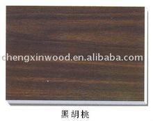 environmental protection fireproofing black walnut decorative plywood