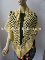lady's crochet shawl