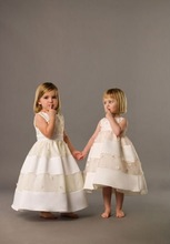 2011 lovely style girls dress baby dress flower girls dresses