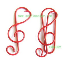 promotional gift--music note shapes paper clip