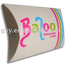 2012 GYY Foldable pillow paper box