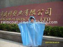 children disposable outdoor rain poncho