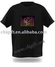 LED Light T-Shirt