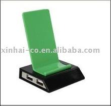 mobile phone holder with usb hub