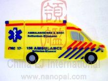 Van car, Ambulance car shape PVC usb flash drive