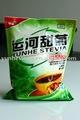 La stevia, stevia en polvo