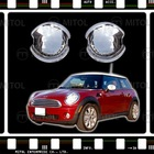 For Mini Cooper 07-ON Chrome Door Handle Insert Pad Cover