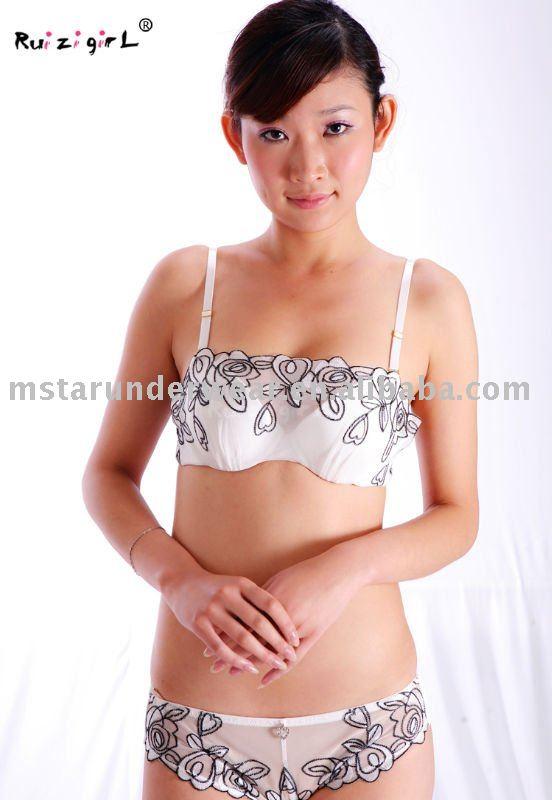 Hot sexy girls romantic underwear set