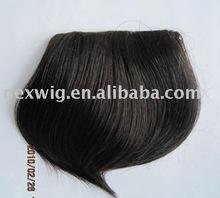 Clip Human Hair Bang