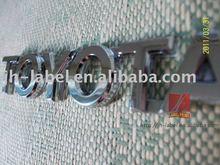 Car Badge, letter Emblem for TOYOTA ,safe shipping