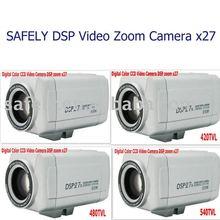 27x high focus cctv digital Color Video DSP zoom camera