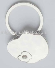 Apple Shaped Key Tag