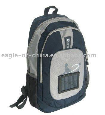 Solar backpack bag