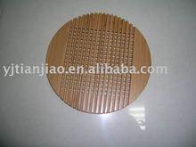 Round Bamboo Trivet