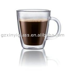 caf lait tasse en verre de th verre id du produit. Black Bedroom Furniture Sets. Home Design Ideas