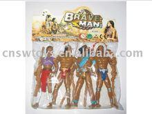 4pcs plastic indians