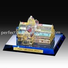 CB046 crystal building model