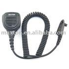 interphone/walkie talkie/two way radio waterproof speaker microphone for Motorola GP328