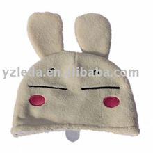 stuffed hat plush can rabbit cap
