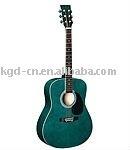 green acoustic guitar (AG229-41)