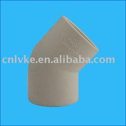 45 Degree socket elbow/ PVC pipe fitting