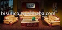 most comfortable and luxury antique european style genuine leather sofa set. chesterfield sofa. villa sofa