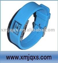 Tie Dye Silicone Sport Watch with custom logo