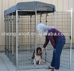 American 4' x 8' x 6' dog kennels