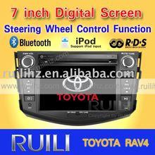 2011 hot sell car audio TOYOTA RAV4 3D animation UI